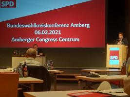 Johannes Foitzik auf der Bundeswahlkreiskonferenz